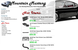 mountainmustang.ca  Our Partner Sites by Authcom, Nova Scotia\s Internet and Computing Solutions Provider in Kentville, Annapolis Valley