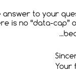 No-Data-Cap